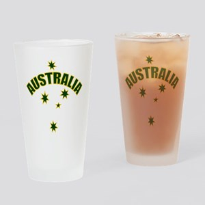 Australia Southern cross star Pint Glass