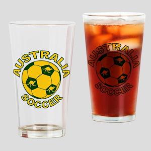 Australia Soccer New Pint Glass
