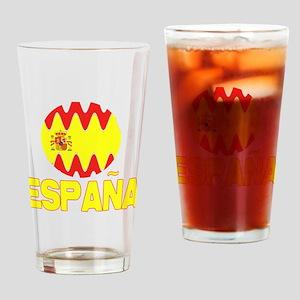 Spain Espana World Design Pint Glass