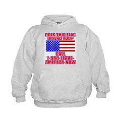 Patriotic or Leave America Hoodie