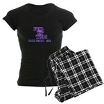 rick perry 2012 fed up too Women's Dark Pajamas