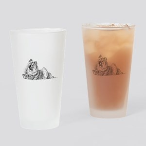 Chow Chow Pint Glass