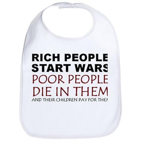 NO MORE WAR! Bib
