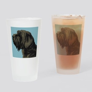 Wirehaired Pointing Griffon Pint Glass