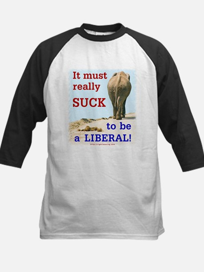 Must Suck to be Liberal Kids Baseball Jersey
