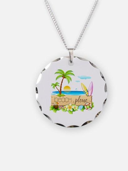 Cute Tropical coconut Necklace