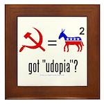 Got Udopia? Framed Tile