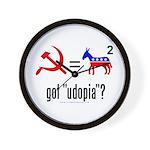 Got Udopia? Wall Clock