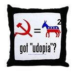 Got Udopia? Throw Pillow