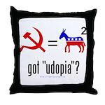 Got Udopia? Throw Pillow