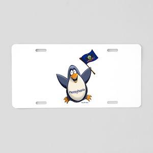 Pennsylvania Penguin Aluminum License Plate