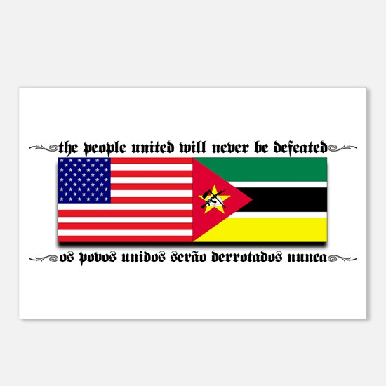 USA - Mozambique Postcards (Package of 8)
