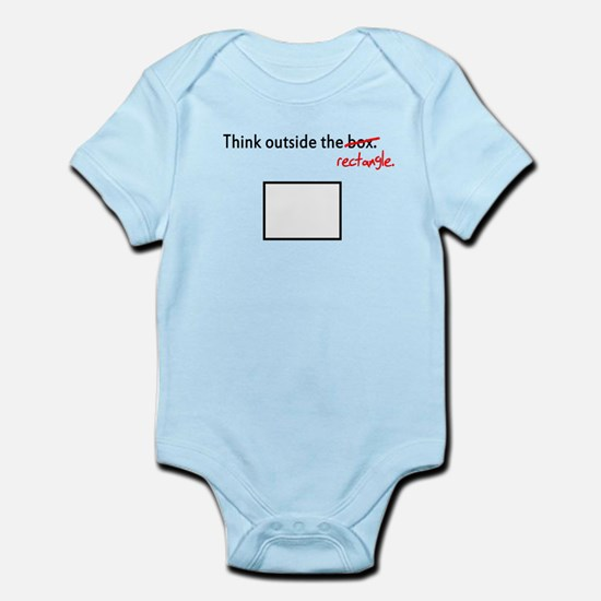 Think Outside The Box (Rectan Infant Bodysuit