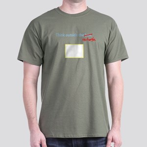 Think Outside The Box (Rectan Dark T-Shirt