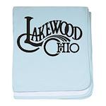 Lakewood Logo baby blanket