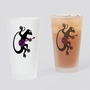 Gecko Banjo Drinking Glass
