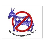 Anti-Democrat Small Poster