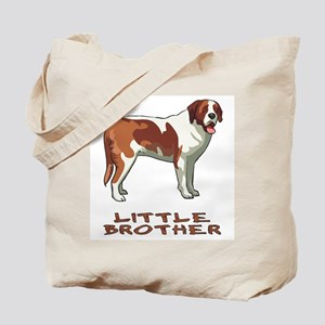 Little Brother St. Bernard Tote Bag