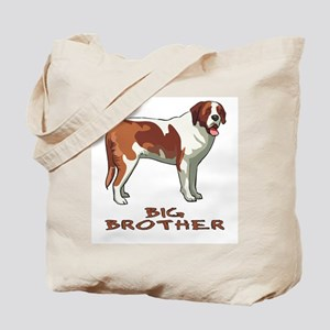 Big Brother St. Bernard Tote Bag