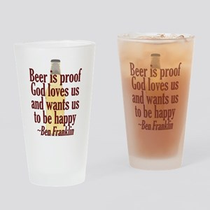 Beer is Proof Pint Glass