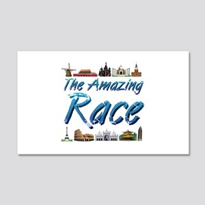 Amazing Race 20x12 Wall Decal