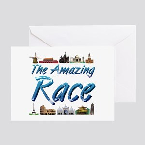 Amazing Race Greeting Card