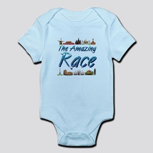 Amazing Race Baby Light Bodysuit
