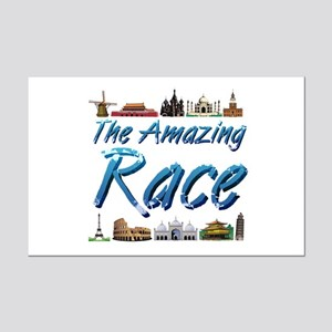 Amazing Race Mini Poster Print