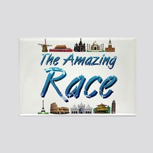 The Amazing Race Rectangle Magnet