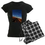 Buddist Proverb Women's Dark Pajamas