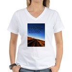 Buddist Proverb Women's V-Neck T-Shirt