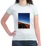 Buddist Proverb Jr. Ringer T-Shirt