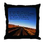 Buddist Proverb Throw Pillow