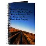 Buddist Proverb Journal