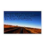 Buddist Proverb 22x14 Wall Peel
