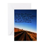 Buddist Proverb Greeting Cards (Pk of 20)