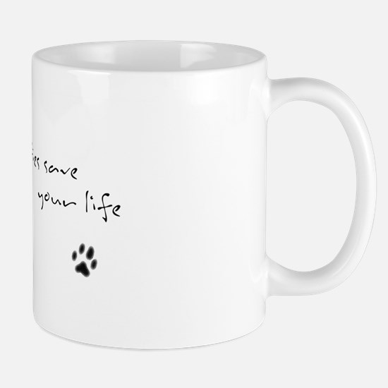 Newfies Save you Life Mug