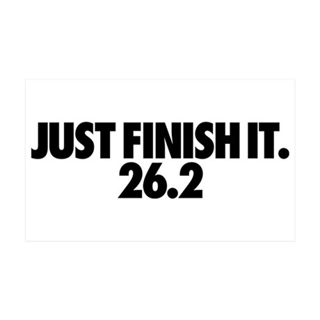 Just Finish It 26.2 38.5 x 24.5 Wall Peel