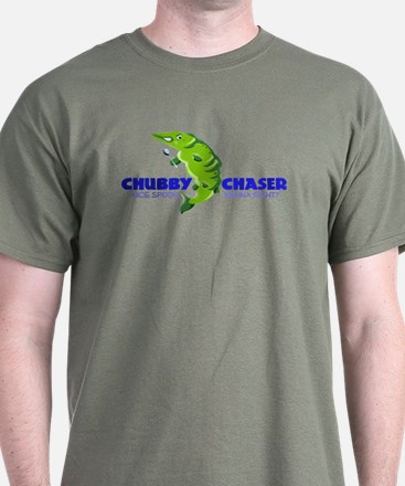 Mad Chubby Chaser. Wanna fight? T-Shirt