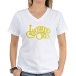 Lakewood Logo Women's V-Neck T-Shirt