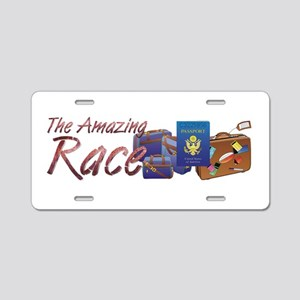 Amazing Race Aluminum License Plate
