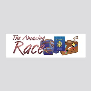 Amazing Race 36x11 Wall Decal
