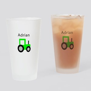 Adrian - Lime Tractor Pint Glass