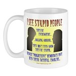 Stupid People Mug