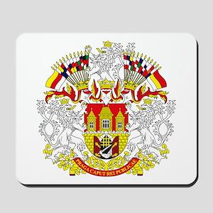 Prague Coat of Arms Mousepad