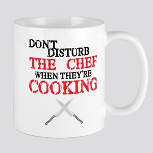 Don't disturb the chef when they're cookin
