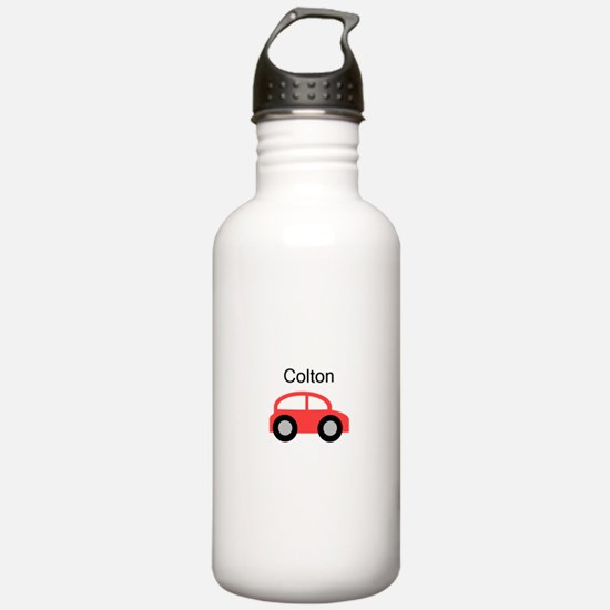 Colton - Red Car Water Bottle