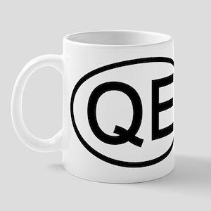 QE - Initial Oval Mug