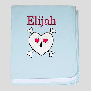 Elijah - Love Pirate baby blanket