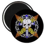 Cross Skull(black) Magnet